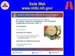 sede web www nhlbi nih gov