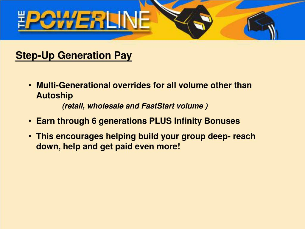 Step-Up Generation Pay