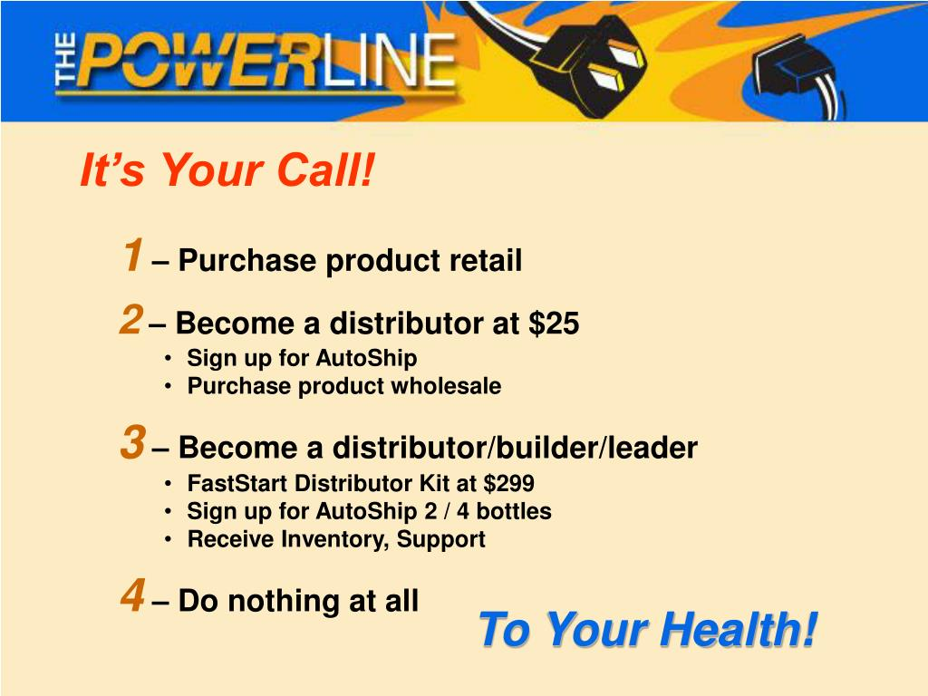 It's Your Call!