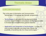 thematic areas12