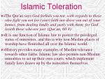 islamic toleration