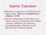 islamic toleration25