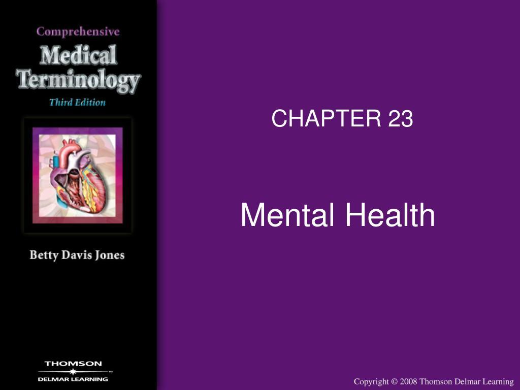 mental health l.
