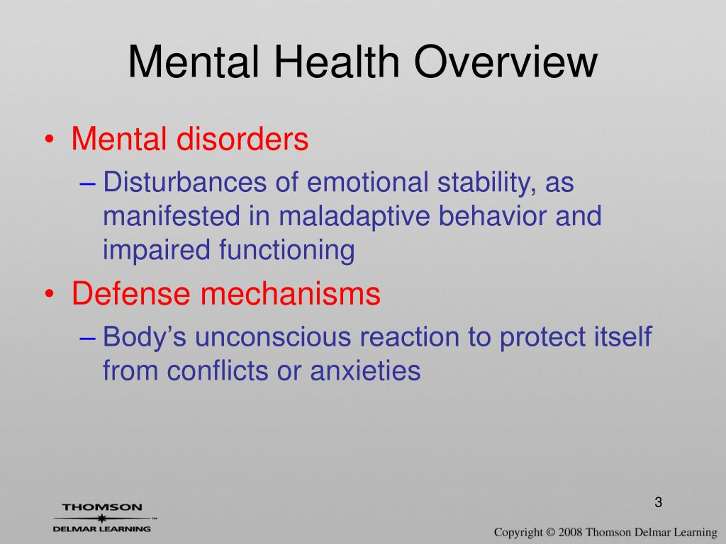 Ppt Mental Health Powerpoint Presentation Free Download Id 173540