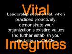 vital integrities