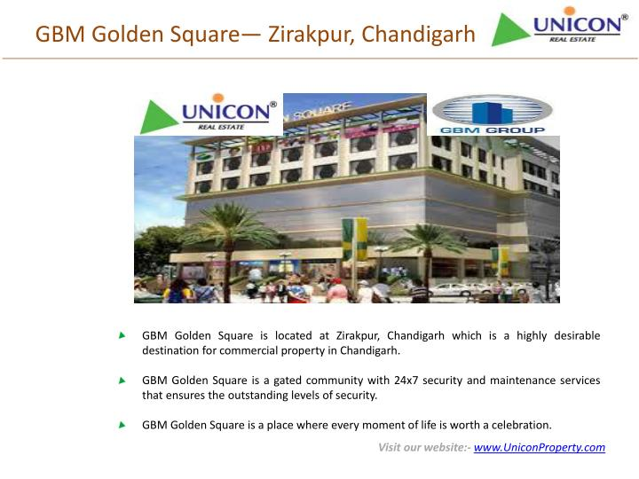Gbm golden square zirakpur chandigarh
