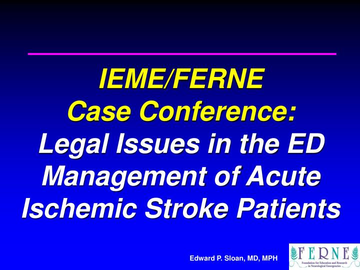 ischemic stroke case studies Case report ischemic stroke due to protein c deficiency the family study it could be argued that an ischemic stroke by itself.