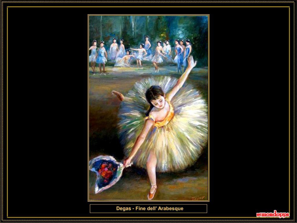 Degas - Fine dell' Arabesque
