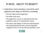 pi regs ability to benefit32