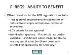 pi regs ability to benefit34
