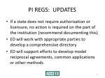 pi regs updates11