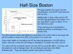 half size boston
