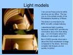 light models