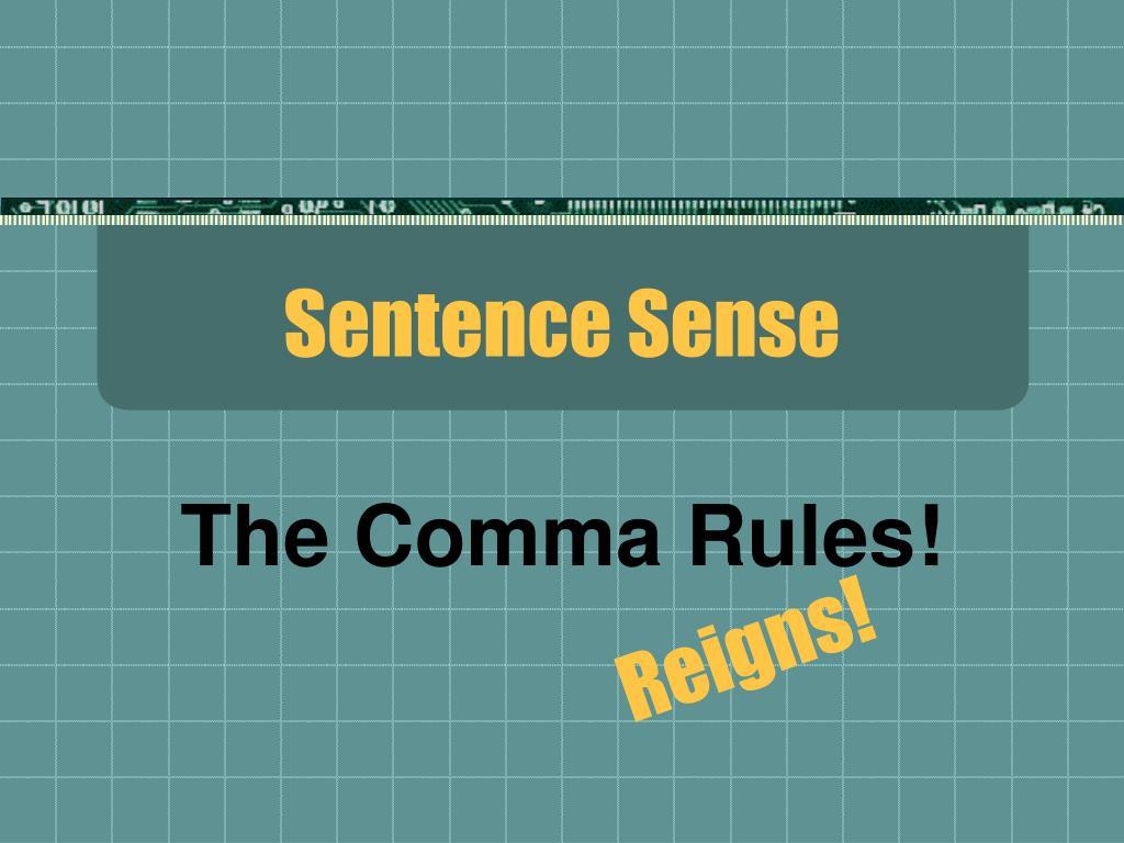 sentence sense l.