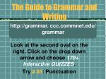 the guide to grammar and writing43