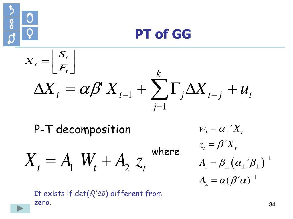 PT of GG