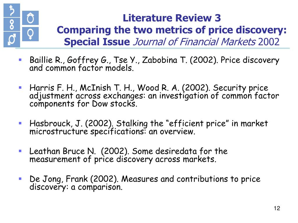 Literature Review 3