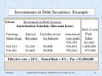 investments in debt securities example13