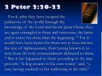 2 peter 2 20 22