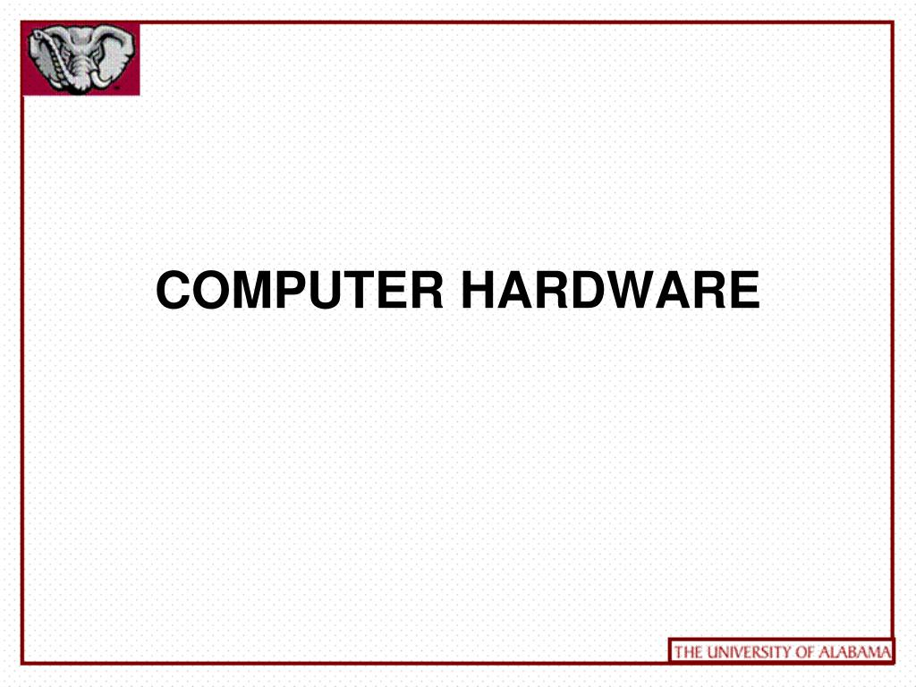computer hardware l.