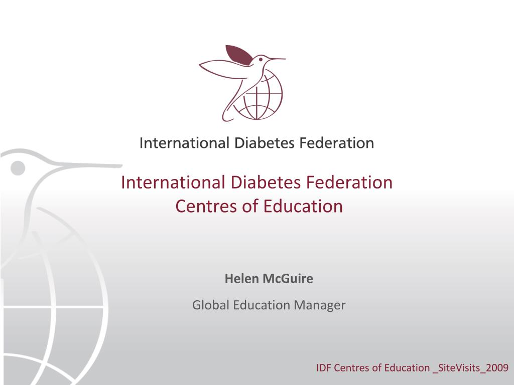 international diabetes federation centres of education l.