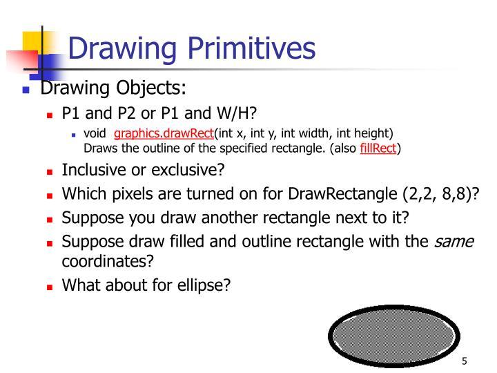 Drawing Primitives