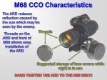 m68 cco characteristics6