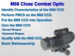 m68 close combat optic