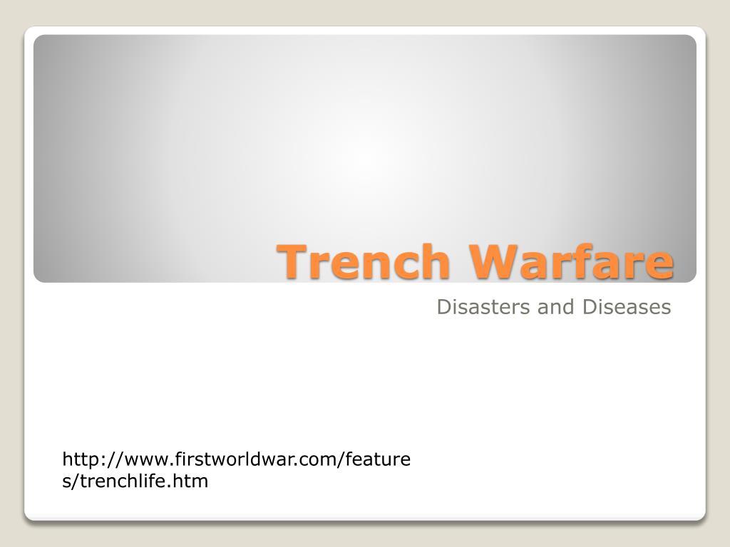 trench warfare l.