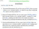 proofs involving mixed quantifiers7