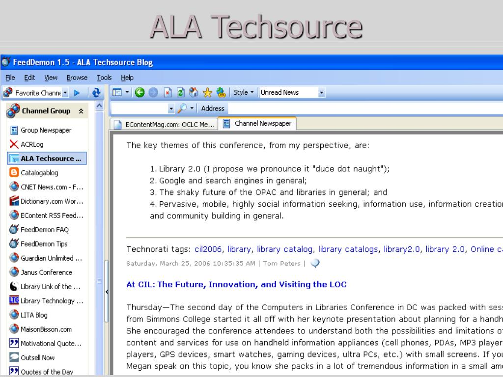 ALA Techsource