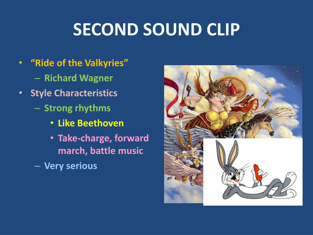 SECOND SOUND CLIP