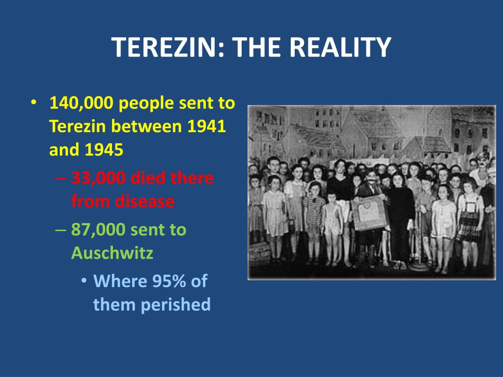 TEREZIN: THE REALITY