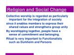religion and social change10