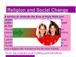 religion and social change12