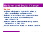 religion and social change15