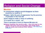 religion and social change16