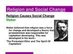 religion and social change18