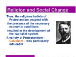 religion and social change20