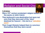 religion and social change21