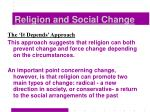 religion and social change27