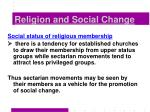 religion and social change35