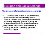religion and social change36
