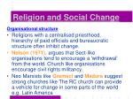 religion and social change37