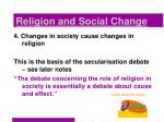 religion and social change4