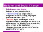 religion and social change5