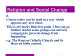 religion and social change7