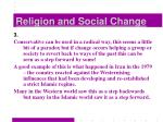 religion and social change8