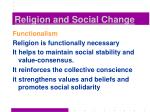religion and social change9