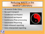 reducing waste in the medical laboratory15